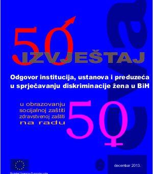 Diskriminacija žena u BiH: Izvještaj