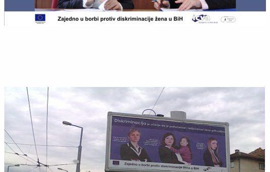 Zajedno u borbi protiv diskriminacije žena u BiH